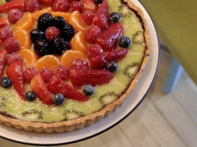 Fruit Custard Tarte