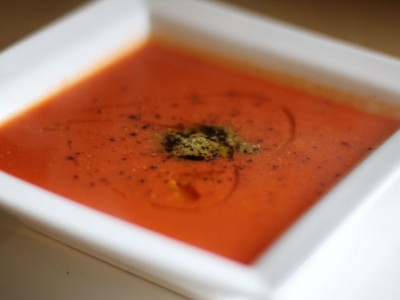 Quick and easy Tomato and basil soup