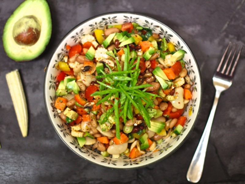 Tex-mex Bean salad