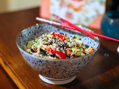 Sushi Salad- Super Quick!!!
