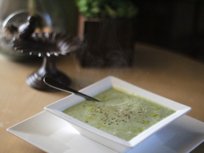 Creamy Cauliflower and Broccoli Soup