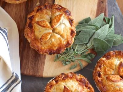 Creamy Vegetable Pot Pies