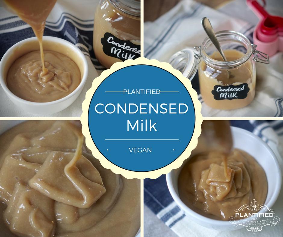 Plantified Soy Condensed Milk (Vegan, Egg free, Dairy Free,Gluten free)