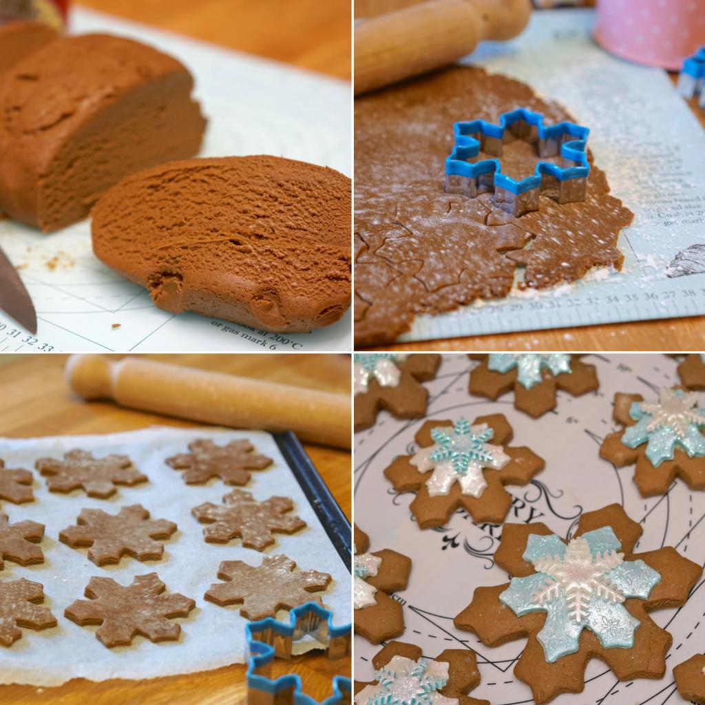 Plantified Aquafaba Gingerbread Snowflakes (Vegan, Egg free, Dairy Free
