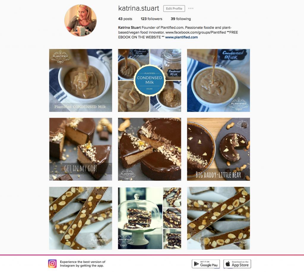Katrina Stuart / Plantified Instagram