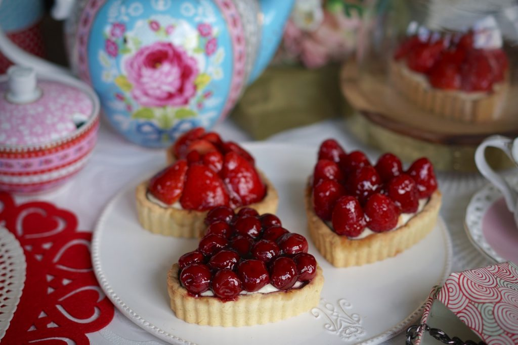 Tarte Aux Fruits (Vegan, Egg free, Dairy Free, Gelatine Free)