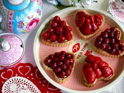 Valentine Tarte Aux Fruits with Grand Marnier (Vegan)