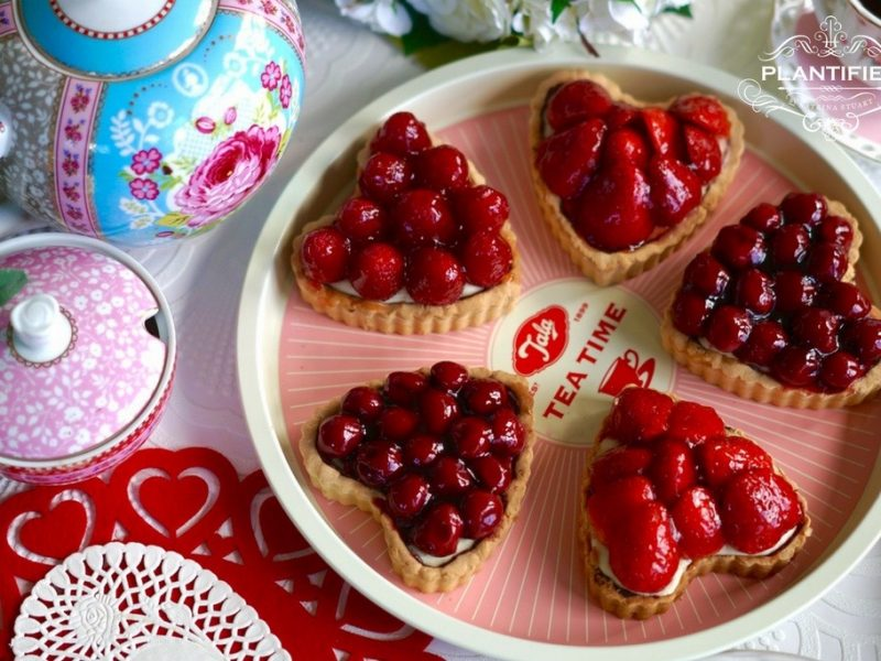 Valentine Tarte Aux Fruits with Grand Marnier (Vegan)