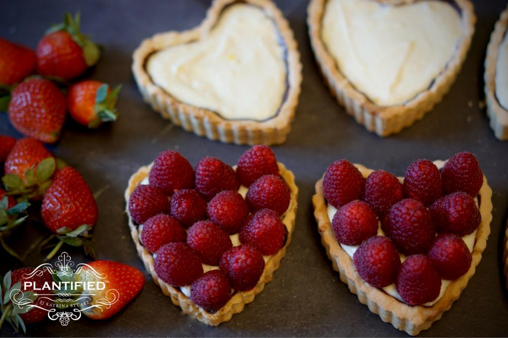 Valentine Tarte Aux Fruits (Vegan, Egg free, Dairy Free, Gelatine Free)